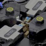 Máquina de fusão de fibra óptica